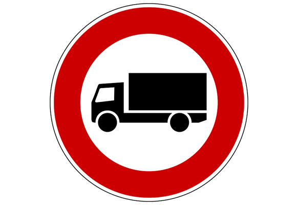 Where Trucks Are Not Allowed in Illinois
